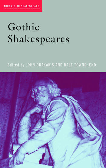 Gothic Shakespeares book cover