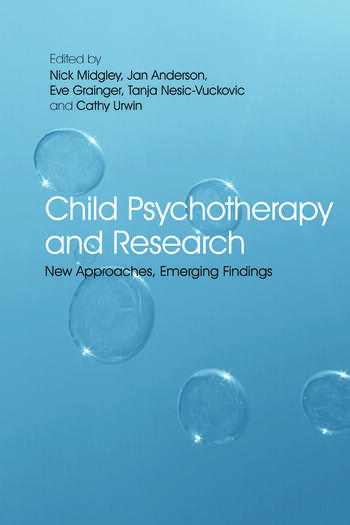 Child Psychotherapy and Research New Approaches, Emerging Findings book cover