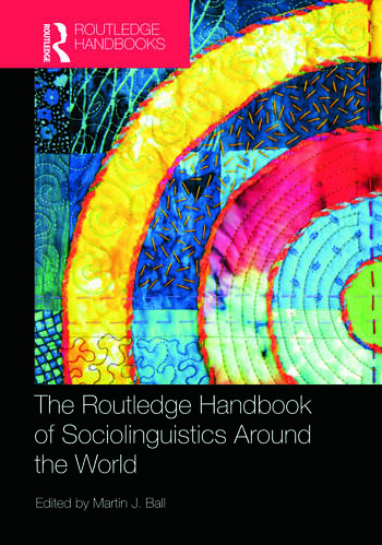 The Routledge Handbook of Sociolinguistics Around the World book cover