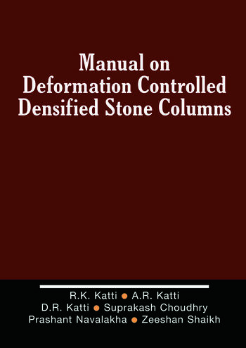 Manual on Deformation Controlled Densified Stone (DDS) Columns book cover
