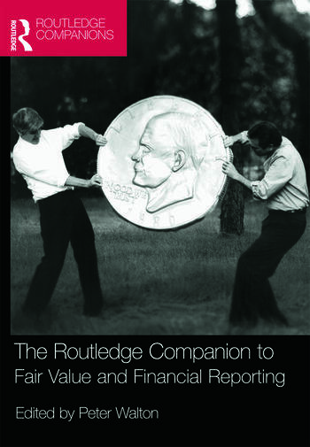 The Routledge Companion to Fair Value and Financial Reporting book cover