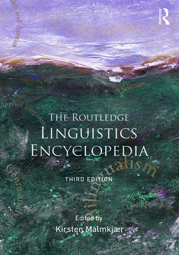 The Routledge Linguistics Encyclopedia book cover