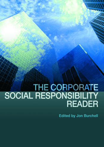 The Corporate Social Responsibility Reader book cover