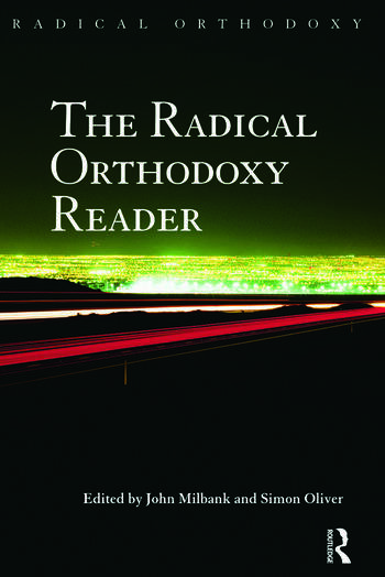 The Radical Orthodoxy Reader book cover