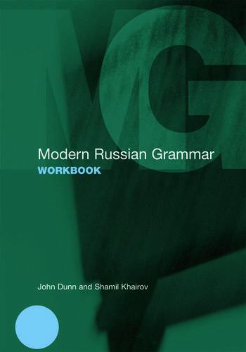 Modern Russian Grammar Workbook book cover