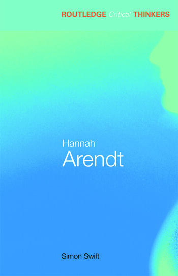 Hannah Arendt book cover