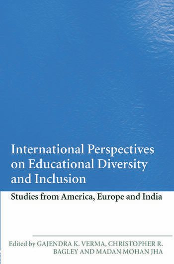 International Perspectives on Educational Diversity and Inclusion Studies from America, Europe and India book cover