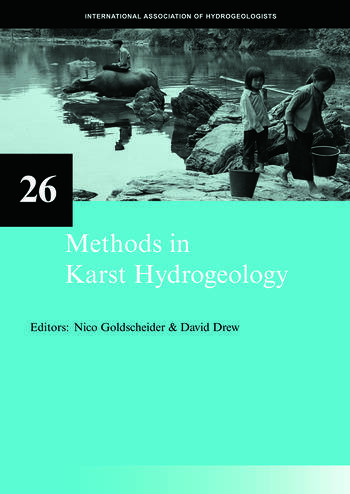 Methods in Karst Hydrogeology IAH: International Contributions to Hydrogeology, 26 book cover