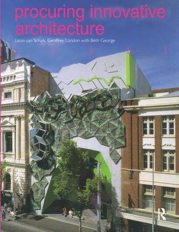 Procuring Innovative Architecture book cover