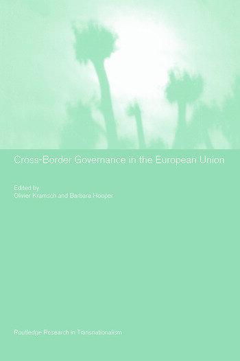 Cross-Border Governance in the European Union book cover