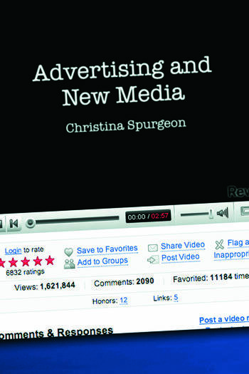 Advertising and New Media book cover