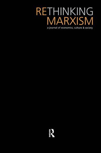 Rethinking Marxism 19.1 book cover