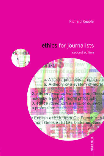 Ethics for Journalists book cover