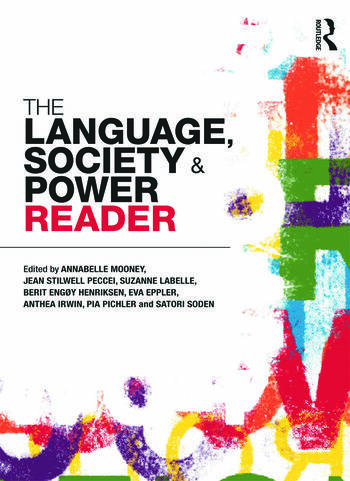 The Language , Society and Power Reader book cover