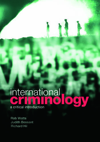 International Criminology A Critical Introduction book cover
