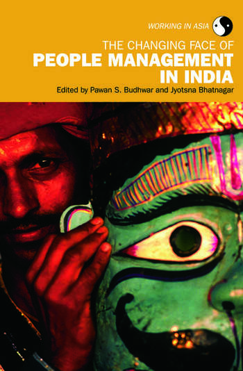 The Changing Face of People Management in India book cover