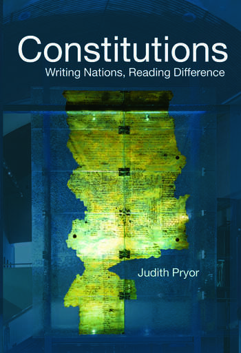 Constitutions Writing Nations, Reading Difference book cover