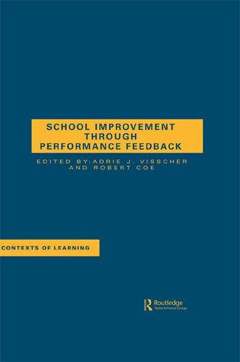 School Improvement Through Performance Feedback book cover