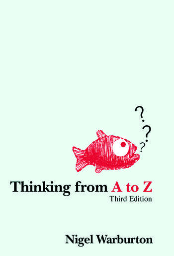 Thinking from A to Z book cover