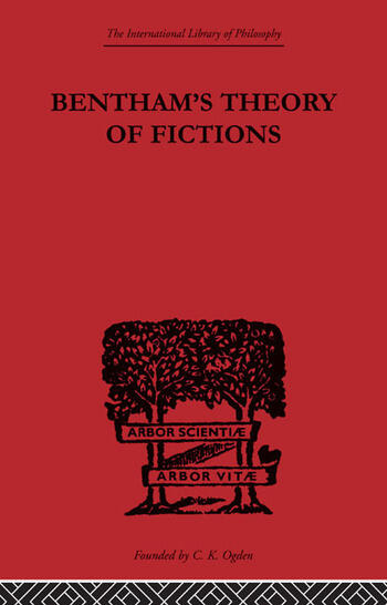 Bentham's Theory of Fictions book cover