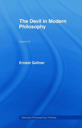The Devil in Modern Philosophy book cover