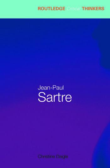 Jean-Paul Sartre book cover