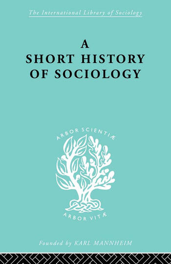 A Short History of Sociology book cover
