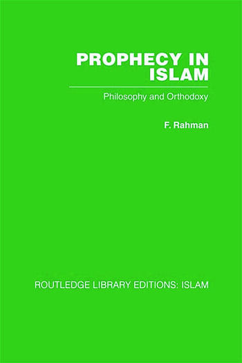 Prophecy in Islam book cover