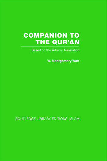 Companion to the Qur'an Based on the Arberry Translation book cover