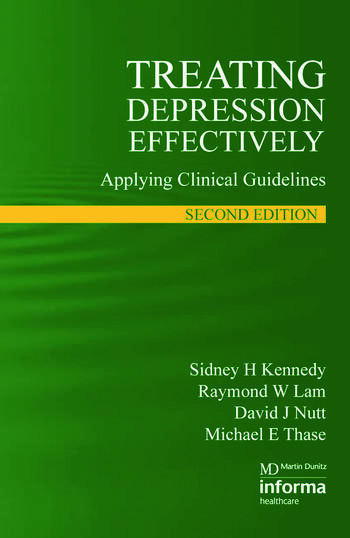 Treating Depression Effectively Applying Clinical Guidelines book cover