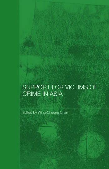 Support for Victims of Crime in Asia book cover