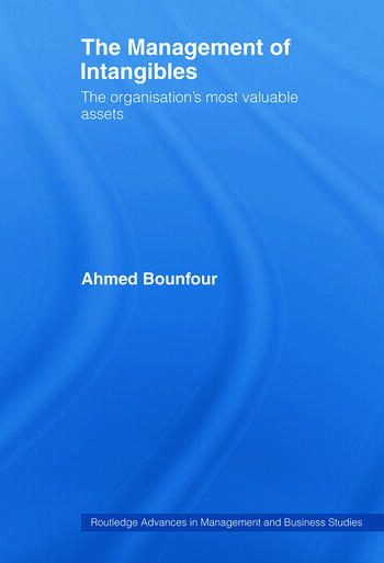 The Management of Intangibles The Organisation's Most Valuable Assets book cover