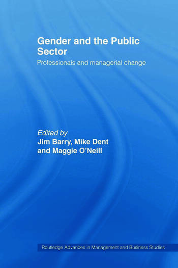 Gender and the Public Sector book cover