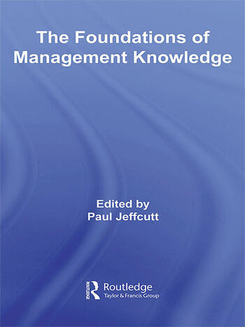 The Foundations of Management Knowledge book cover