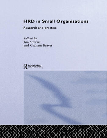 Human Resource Development in Small Organisations Research and Practice book cover