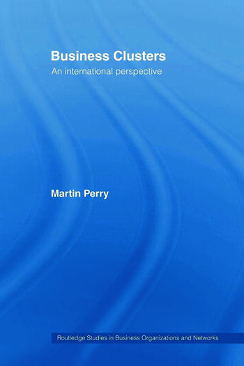 Business Clusters An International Perspective book cover