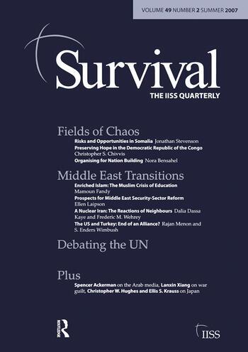 Survival 49.2 Survival 49.2 Summer 2007 book cover
