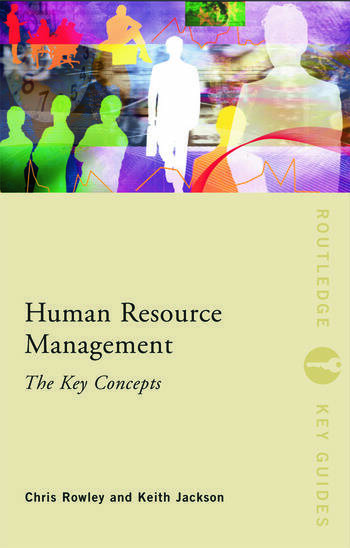 Human Resource Management: The Key Concepts book cover