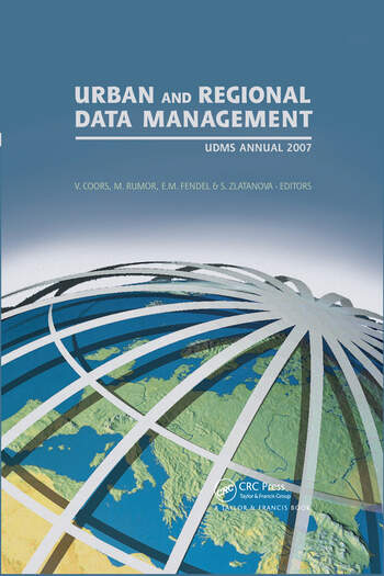 Urban and Regional Data Management UDMS 2007 Annual book cover