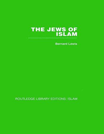 The Jews of Islam book cover