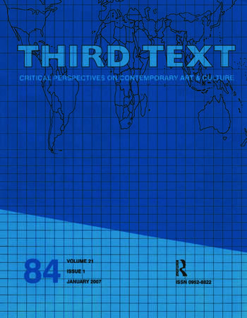 Third Text 21.1 book cover
