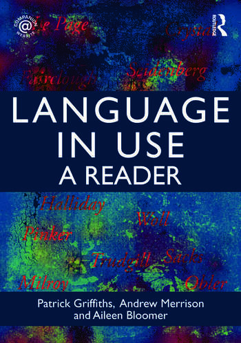 Language in Use A Reader book cover