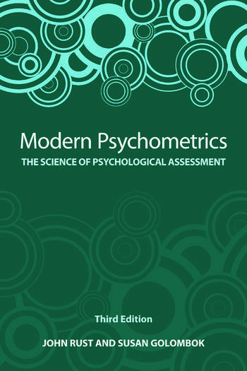 Modern Psychometrics The Science of Psychological Assessment book cover