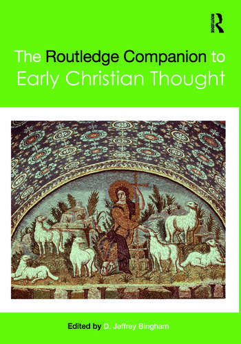 The Routledge Companion to Early Christian Thought book cover