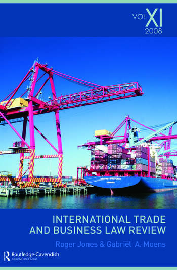 International Trade and Business Law Review: Volume XI book cover
