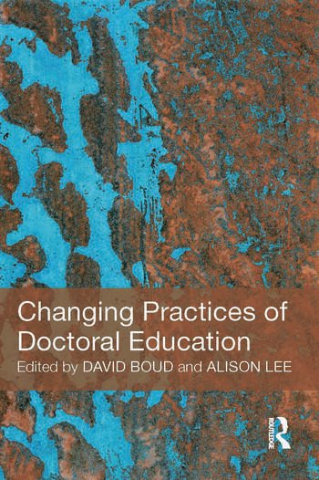 Changing Practices of Doctoral Education book cover