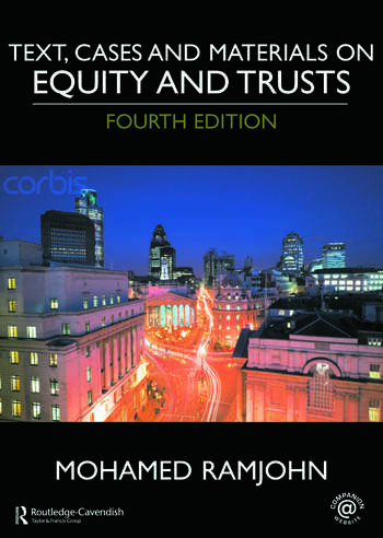 Text, Cases and Materials on Equity and Trusts book cover