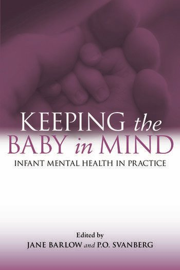 Keeping The Baby In Mind Infant Mental Health in Practice book cover