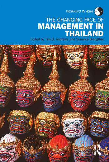 The Changing Face of Management in Thailand book cover