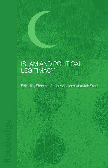 Islam and Political Legitimacy book cover